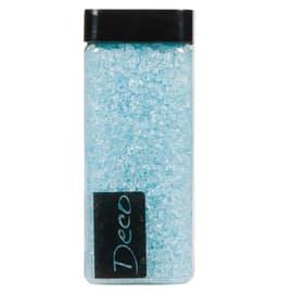 Sassi vetro decorativi azzurro 0,8 g
