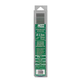 10 elettrodi inox