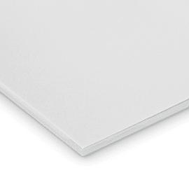 Lastra gomma crepla bianco 50 x 100  mm, spessore 10 mm