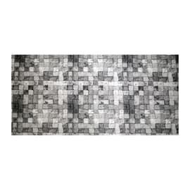 Passatoia al taglio Digit grigio 52 cm