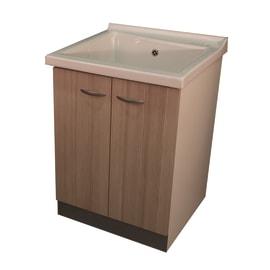 Mobile lavatoio Plus BIANCO / LARICE L 63 x P  60 x H 87 cm