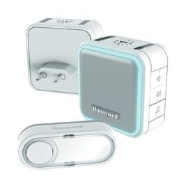 Kit campanello Portatile plug-in con funzione sospensione e luce notturna senza filo
