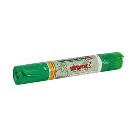 Sacco rifiuti 100 x 70 cm verde 6 pezzi