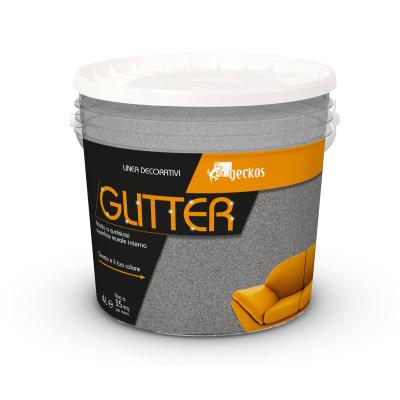 Pittura ad effetto decorativo glitter grigio sasso 6 4 l for Pittura lavabile prezzi leroy merlin