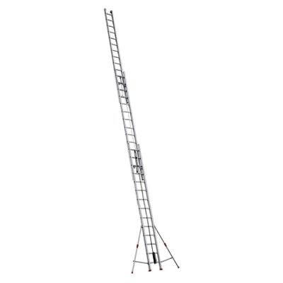 Scala con fune alluminio facal 3x14 gradini per lavori for Scale alluminio leroy merlin