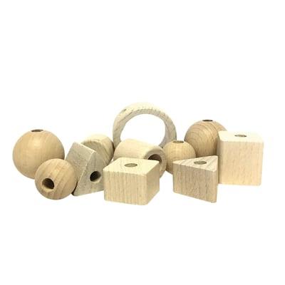 11 perline in legno bianco prezzi e offerte online leroy for Perline legno leroy merlin