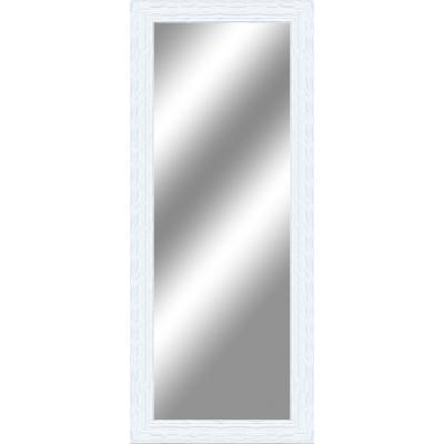Specchio da parete rettangolare teresa bianco 60 x 145 cm for Specchio make up leroy merlin