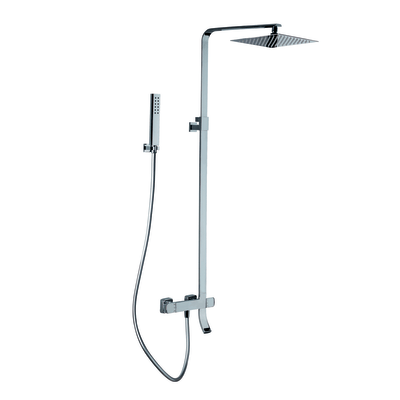 Colonna doccia vasca a tre vie prezzi e offerte online for Saliscendi doccia leroy merlin