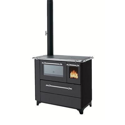 Cucina a legna betty 45 nero prezzi e offerte online leroy merlin - Aerazione gas cucina ...