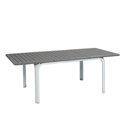 Tavolo allungabile alloro 140 x 100 cm bianco prezzi e for Bianco leroy merlin