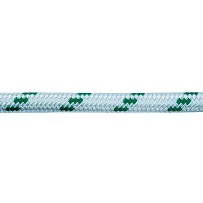Corda in poliestere 12 mm bianco verde con segnalino for Tende corda leroy merlin