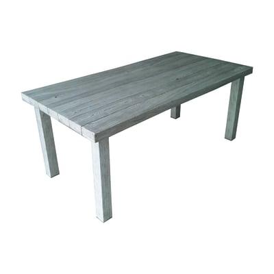 Tavolo ecotop 180 x 90 cm bianco prezzi e offerte online for Altalena da giardino leroy merlin