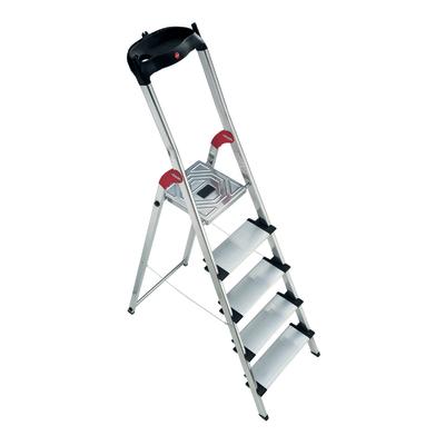 Scala domestica in alluminio 5 gradini hailo xxl prezzi e for Scale alluminio leroy merlin