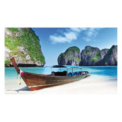 Quadro su tela paradise beach 80x135 prezzi e offerte for Leroy merlin quadri tela