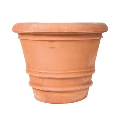 Vaso liscio 83 x 83 cm cotto prezzi e offerte online for Vasi in cotto prezzi