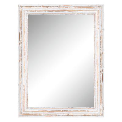 Specchio da parete rettangolare adel bianco 64 x 84 cm - Specchio rettangolare da parete ...