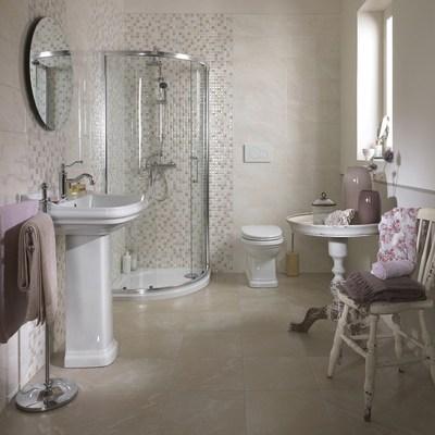 Piastrella marfil 20 x 50 cm beige prezzi e offerte online - Piastrelle leroy merlin bagno ...