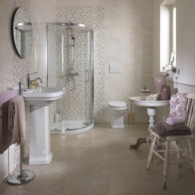 Piastrella marfil 50 x 20 cm beige prezzi e offerte online - Bagno ecologico prezzi ...