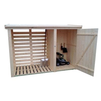 Legnaia in legno werneri 2 14 m spessore 12 mm prezzi e for Armadietti in plastica leroy merlin
