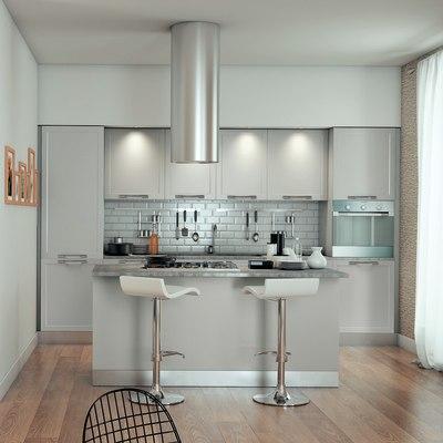 Cucina delinia newport grigio prezzi e offerte online for Cucine complete