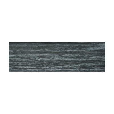 Battiscopa nero 11 x 70 x 2500 mm prezzi e offerte online for Leroy merlin battiscopa