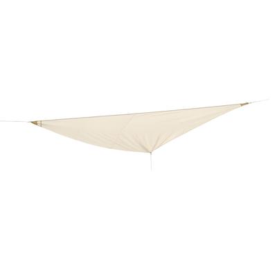 Vela ombreggiante triangolare ecru prezzi e offerte online for Telo ombreggiante leroy merlin
