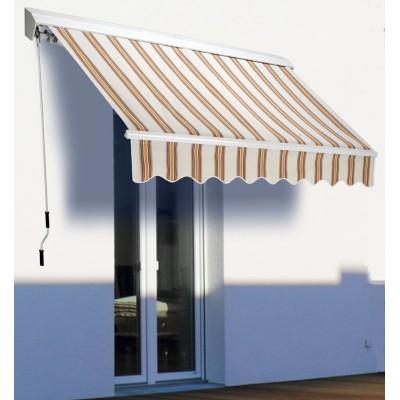 Tenda da sole a bracci estensibili su barra quadra 250 x for Tende da sole velux