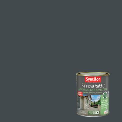 Vernice per esterno ad acqua syntilor rinnova tutto grigio 0 75 l prezzi e offerte online - Syntilor rinnova tutto bagno ...