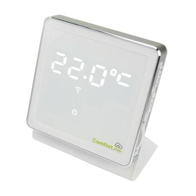 Termostato intelligente e connesso comfort me wireless for Termostato gsm leroy merlin