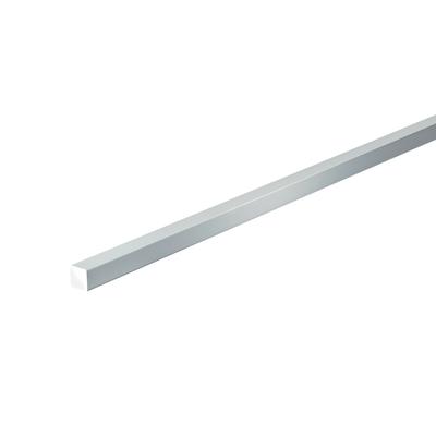 Profilo in alluminio 1 m x 1 cm argento. Prezzo online ...