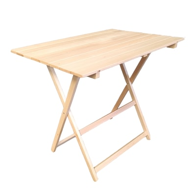 Tavolo Da Giardino Rettangolare Pieghevole Con Piano In Legno L 60 X P 80 Cm Prezzo Online Leroy Merlin
