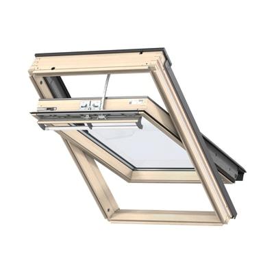 Finestra da tetto faccia inclinata velux ggl ck02 307021 for Velux tetto in legno
