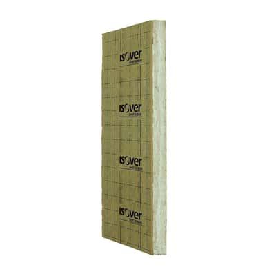 Pannello in lana di vetro italiana 4+ con carta kraft bitumata Mupan K Isover L 1,45 m x H 0,6 m, spessore 5 cm