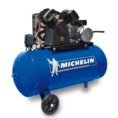 Compressore A Cinghia Michelin Vcx 100 3 Hp Pressione Massima 10