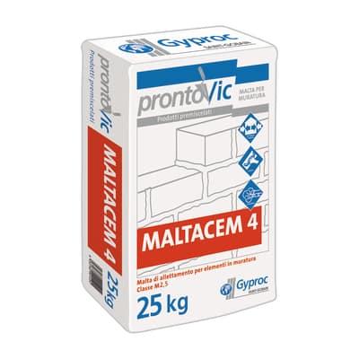 Malta pronta Maltacem 4 Gyproc 25 kg