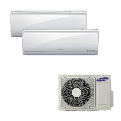 Climatizzatore fisso inverter dualsplit Samsung AJ040FCJ2EH 2.6 + 3.5 kW