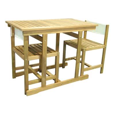 Set tavolo e sedie Balcony acacia