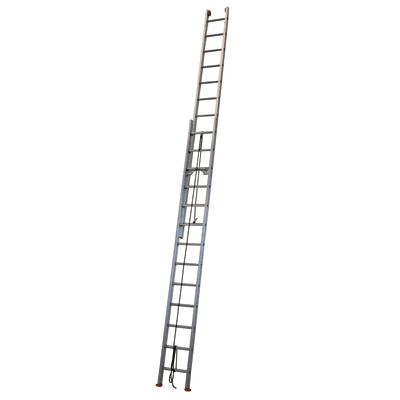Scala con fune alluminio Facal 13 gradini, per lavori fino a 8 m