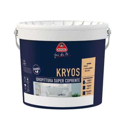 Idropittura lavabile bianca Boero Kryos 4 L