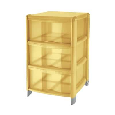 Cassettiera Cover giallo