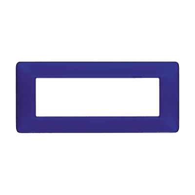 Placca 6 moduli BTicino Matix cobalto