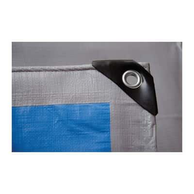 Telo protettivo occhiellato 12 x 8 m 250 g/m²