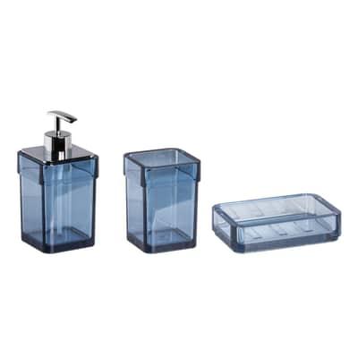 Set accessori serie 25 blu/trasparente