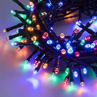 Catena luminosa 300 minilucciole Led multicolore 14,5 m