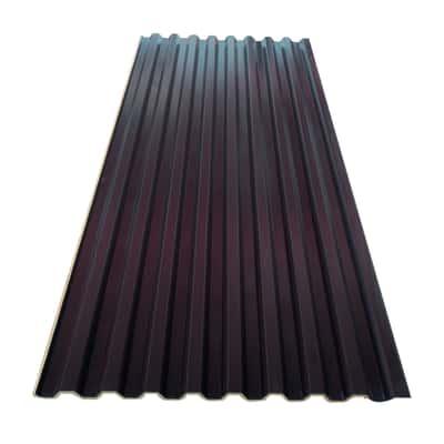 Lastra in acciaio 100 x 190  cm, spessore 0,4 mm