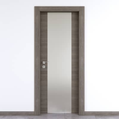 Porta da interno battente Starwood pietra 60 x H 210 cm dx