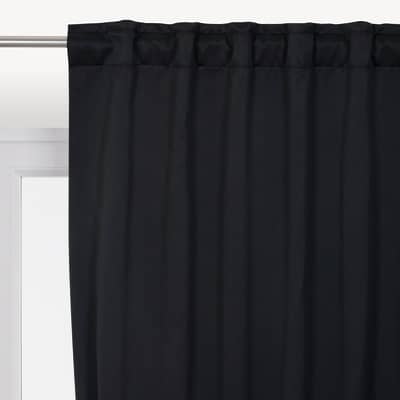 Tenda Stopfreddo nero 140 x 280 cm