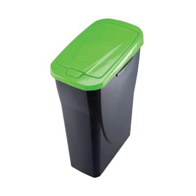 Pattumiera Ecobin 15 15 L verde