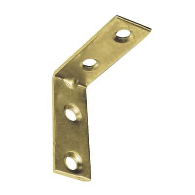 Lastrina piegata 15 x 30 mm, in acciaio zincato