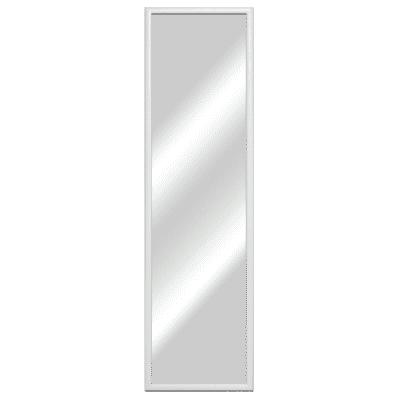 specchio da parete rettangolare Bomber bianco 42,3 x 142,3 cm prezzi ...